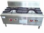 南宁厨房设备推荐-环保燃气双头矮汤炉