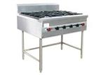 南宁厨房设备推荐-自然风燃气四头矮仔炉