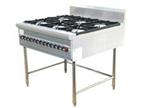 南宁厨房设备推荐-自然风燃气六头煲仔炉